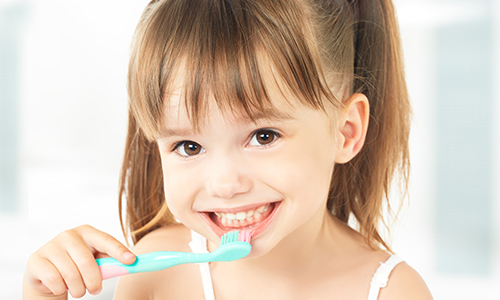 child smile at corstorphine dental